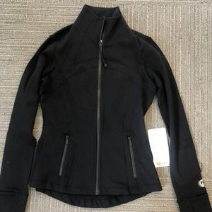 Black lululemon define jacket NEW